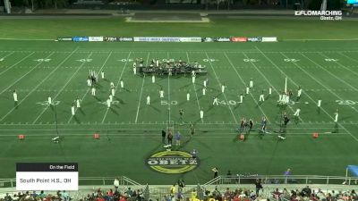 South Point H.S., OH at 2019 BOA Central Ohio Regional Championship pres by Yamaha