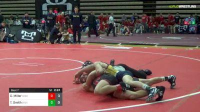 133 lbs Round Of 16 - Christian Miller, Nebraska vs Ty Smith, Drexel