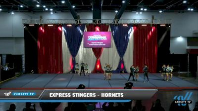 Express Stingers - Hornets [2021 L4 International Open Coed Day 2] 2021 The American Spectacular DI & DII