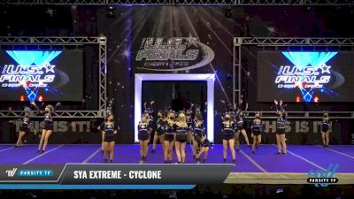 SYA Extreme - CYCLONE [2021 L3 Performance Recreation - 14 and Younger (AFF) Day 1] 2021 The U.S. Finals: Ocean City
