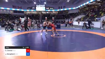 65 kg Prelims - Domonick Demas, Oklahoma Regional Training Center vs Jakob Bergeland, Gopher Wrestling Club - RTC