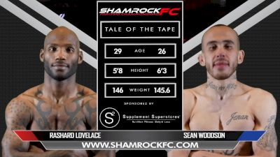 Sean Woodson vs. Rashard Lovelace - Shamrock FC 311 Full Fight Replay