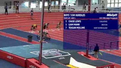 High School Boys' 55m Hurdles, Finals 1