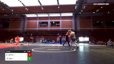 113 lbs Final - Kaleb Larkin, AZ vs Nick Fea, PA