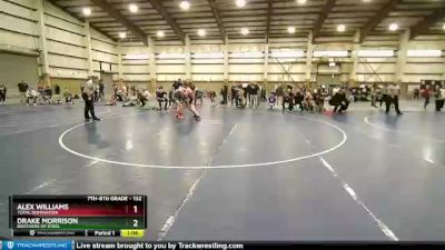 132 lbs Round 2 - Drake Morrison, Brothers Of Steel vs Alex Williams, Total Domination