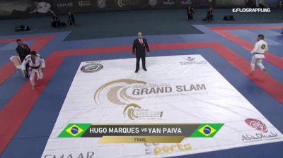 HUGO MARQUES vs YAN PAIVA 2018 Abu Dhabi Grand Slam Rio De Janeiro