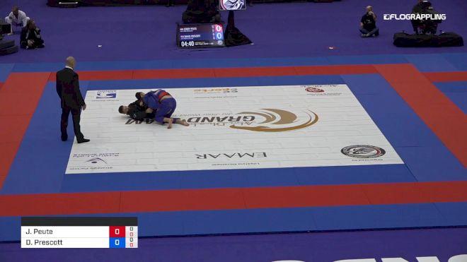 Jordy Peute vs David Prescott 2019 Abu Dhabi Grand Slam London