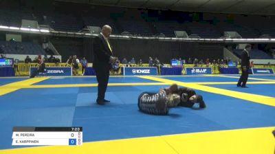 MAYSSA PEREIRA vs ELVIRA KARPPINEN World IBJJF Jiu-Jitsu No-Gi Championships