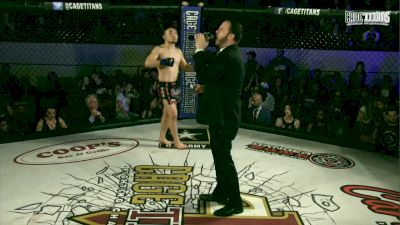 Kin Moy vs. Patrick Corrigan - Cage Titans FC 41 Full Fight Replay