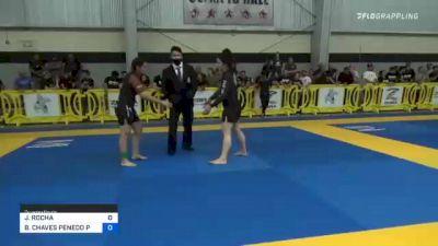 JASMINE ROCHA vs BETINA CHAVES PENEDO PEREIRA 2021 Pan IBJJF Jiu-Jitsu No-Gi Championship