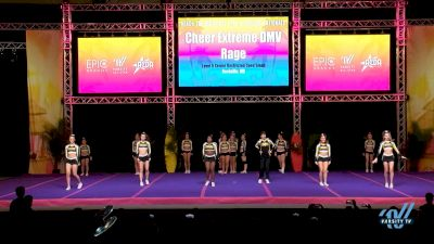 Cheer Extreme DMV [2019 Rage L5 Senior Restricted Coed - Small] 2019 Reach The Beach Nationals