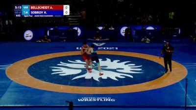 67 kg Round Of 16 - Aaron Bellscheidt, GER vs Nozimjon Sobirov, TJK