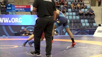 80 kg 1/2 Final - Kamaludin Magomedov, Russia vs Hamza Sertcanli, Sweden