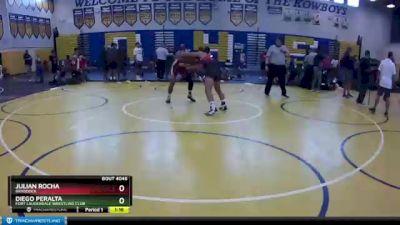 145 lbs 3rd Place Match - Julian Rocha, Braddock vs Diego Peralta, Fort Lauderdale Wrestling Club