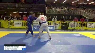 MICHAEL FRANCIS MARION vs CHARLES RAY FERGUSON 2021 Pan Jiu-Jitsu IBJJF Championship