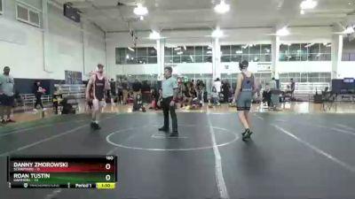 160 lbs Round 9 (10 Team) - Roan Tustin, Hammers vs Danny Zmorowski, ScrapYard