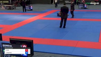 Kenneth Oh vs Yuri Martins 2018 Abu Dhabi Grand Slam Los Angeles