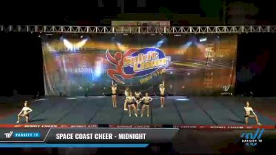 Space Coast Cheer - Midnight [2021 L4.2 Senior Coed Day 2] 2021 South Florida DI & DII Nationals