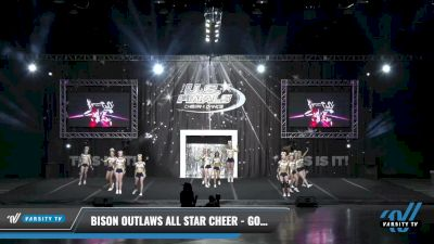 Bison Outlaws All Star Cheer - Gold [2021 L4.2 Senior Day 2] 2021 The U.S. Finals: Louisville