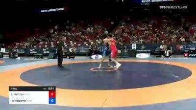 60 kg Round 3 - Ildar Hafizov, Army (WCAP) vs Dalton Roberts, Army (WCAP)