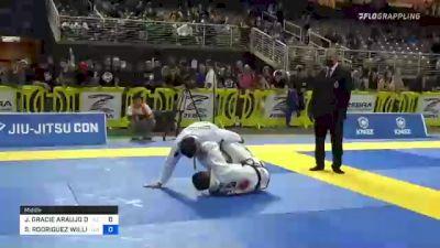 JONNATAS GRACIE ARAUJO DA SILVA vs SEBASTIAN RODRIGUEZ WILLIAMS 2021 Pan Jiu-Jitsu IBJJF Championship