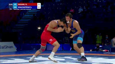 72 kg Final 3-5 - Khasay Hasanli, Azerbaijan vs Shant Khachatryan, Armenia