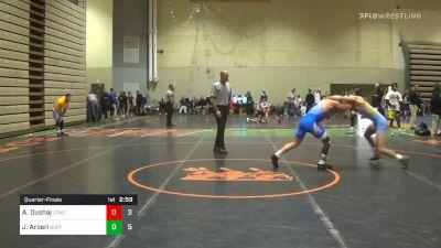 Quarterfinal - Anthony Dushaj, Long Island vs John Arceri, Buffalo