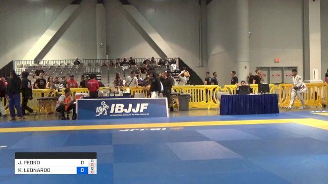 JOÃO PEDRO BUENO MENDES vs KENNEDY LEONARDO MACIEL 2019 American National IBJJF Jiu-Jitsu Championship