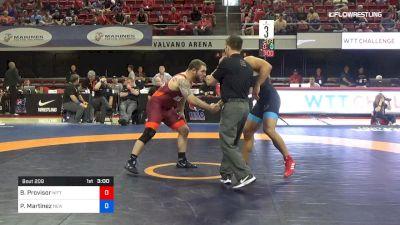 87 lbs Rr Rnd 2 - Ben Provisor, Nittany Lion Wrestling Club vs Patrick Martinez, New York Athletic Club