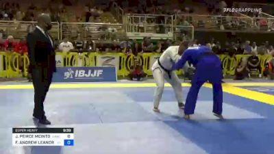 JAE PEIRCE MCINTOSH vs FELLIPE ANDREW LEANDRO SILVA 2021 Pan Jiu-Jitsu IBJJF Championship