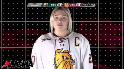 Full Replay - Bemidji State vs Minnesota Duluth | WCHA (W)