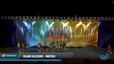 Island Allstars - 5nipers [2021 L5 Senior - D2 Day 2] 2021 The STATE DI & DII Championships