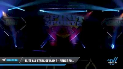 Elite All Stars of Maine - Fierce Force [2021 L4 Junior - Small Day 1] 2021 Spirit Sports: Battle at the Beach