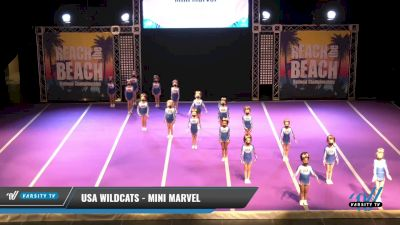 USA Wildcats - Mini Marvel [2021 L1 Mini Day 2] 2021 ACDA: Reach The Beach Nationals