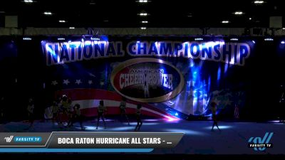 Boca Raton Hurricane All Stars - Reef Sharks [2021 L1 Junior - D2 Day 1] 2021 ACP: Tournament of Champions