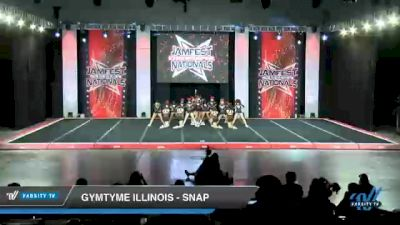 GymTyme Illinois - Snap [2021 L4 Junior - Small - B Day 2] 2021 JAMfest Cheer Super Nationals