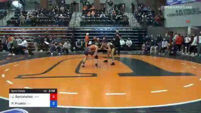 116 lbs Semifinal - Josie Bartishofski, Jamestown vs Peyton Prussin, Life