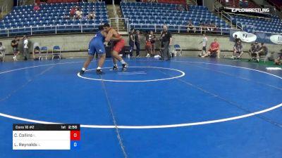 285 lbs Cons 16 #2 - Caleb Collins, Illinois vs Lloyd Reynolds, Illinois
