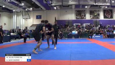 MURILO SILVA FERREIRA DE SANTANA vs ASHUR SAMI DARMO 2019 Pan IBJJF Jiu-Jitsu No-Gi Championship