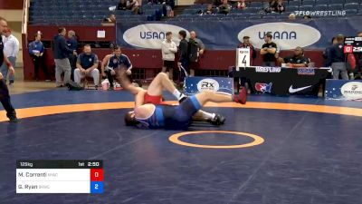125 kg Consolation - Mauro Correnti, New York Athletic Club vs Garrett Ryan, Sunkist Kids Wrestling Club