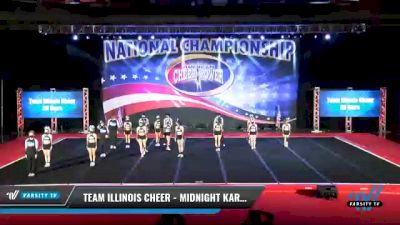 Team Illinois Cheer - Midnight Karma [2021 L4 - U19 Coed Day 2] 2021 ACP: Midwest World Bid National Championship