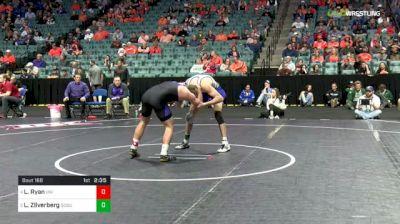 157 lbs Consolation - Logan Ryan, Northern Iowa vs Luke Zilverberg, South Dakota State