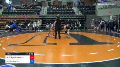 143 lbs Quarterfinal - Waipuilani Estrella-Beauchamp, Midland vs Nancy Becerra, Missouri Valley