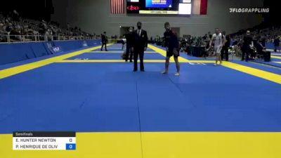 ERIC HUNTER NEWTON vs PEDRO HENRIQUE DE OLIVEIRA E SIL 2021 World IBJJF Jiu-Jitsu No-Gi Championship