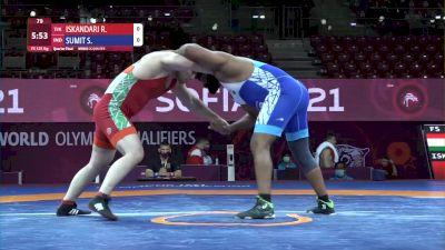 125 kg Rustam Iskandari, TJK vs Sumit Sumit, IND