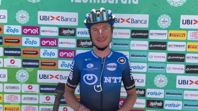 Ben King Race Predictions At The Start of Il Lombardia
