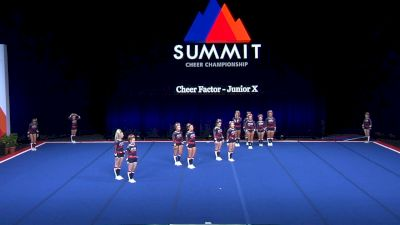 Cheer Factor - Junior X [2021 L6 Junior - Small Wild Card] 2021 The Summit