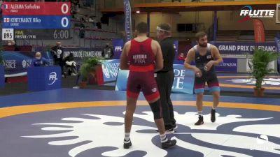79 kg Final - Nika Kentchadze, Georgia vs Saifedine Alekma, France