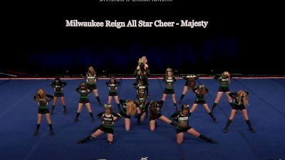 Milwaukee Reign All Star Cheer - Majesty [2021 L1 Junior - Small Wild Card] 2021 The D2 Summit