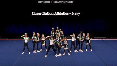Cheer Nation Athletics - Navy [2021 L1 Junior - Small Finals] 2021 The D2 Summit